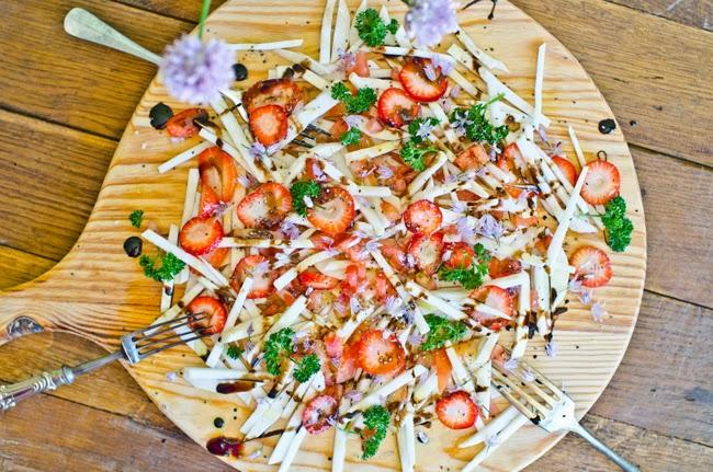 Turnip and Strawberry Salad Recipe