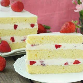 Strawberry Shortcake Cake.