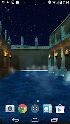 Roman Bath 3D Live Wallpaper APK screenshot thumbnail 6