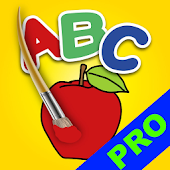 ABC Kids Coloring Book Pro
