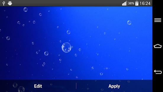 深藍色的大海動態壁紙