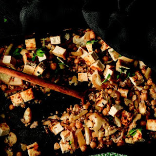 Tofu, Buckwheat, and Chickpea Salad from Dan Churchill