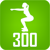 300 Squats. Be Stronger PRO