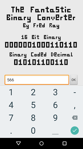Fantastic Binary Converter