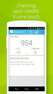 USSD piBalance Pro, balance v3.797