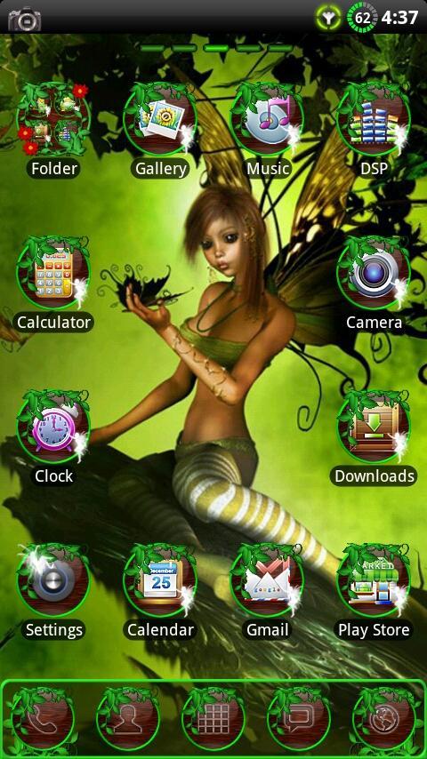 Fairy GO Launcher EX Theme - screenshot