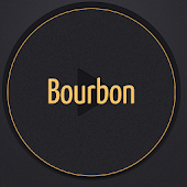 Poweramp Skin - Bourbon theme