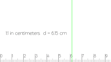 Screenshot of Scale Ruler