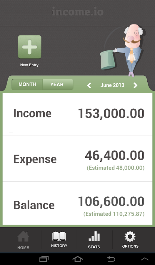 income.io - Money Saving App - screenshot