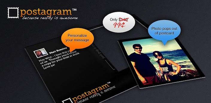 Postagram Postcards – Aplicacion Android