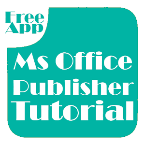 Office Publisher Tutorial 程式庫與試用程式 App LOGO-硬是要APP