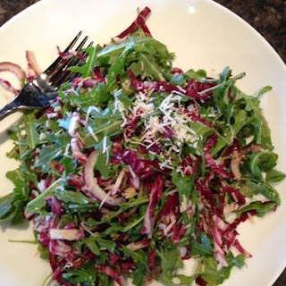 Radicchio And Arugula Salad.