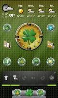 Screenshot of St. Patrick's Day Clock