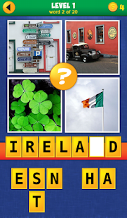 4 Pics 1 Word: Travel