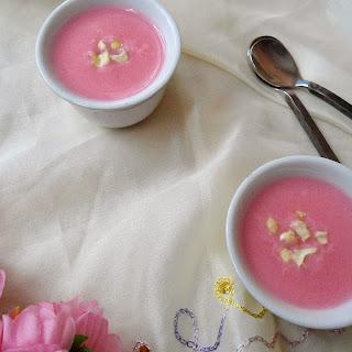 Gulkand Phirni | Rose Flavored Pudding | Dessert