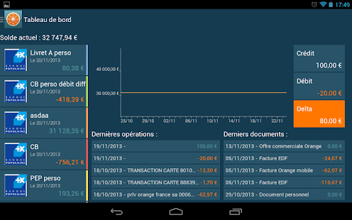 Moneydoc finance budget factur- screenshot thumbnail