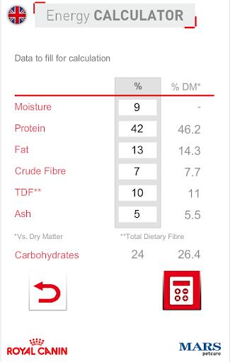 Energy Calculator Cat Dog