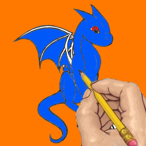 Dragons Cartoon Coloring LOGO-APP點子