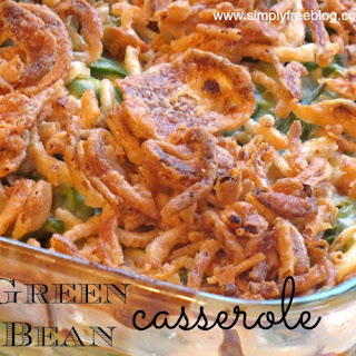 Green Bean Casserole {Recipe}