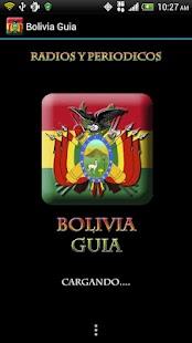Bolivia Guide Radio n News- screenshot thumbnail