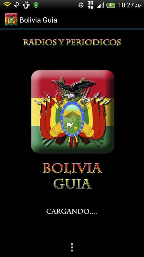Bolivia Guide Radio n News- screenshot