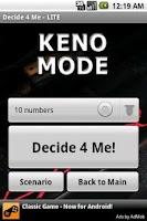Screenshot of Decide 4 Me - LITE