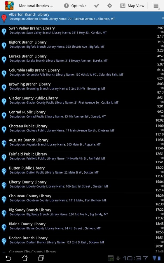 BestRoute Pro Route Planner- screenshot