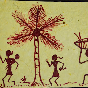 The Tribals of India - Warlis by Rushi Chitre - Painting All Painting