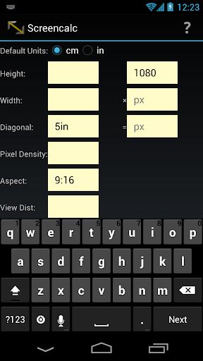 Screencalc screen calculator