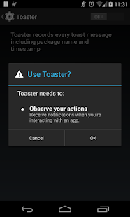 Toaster- screenshot thumbnail