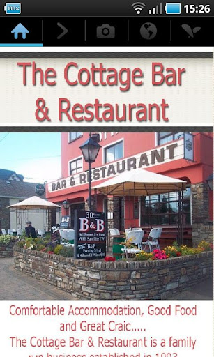 Cottage bar
