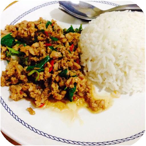 สูตรอาหารจานเดียว สูตรอาหารไทย LOGO-APP點子