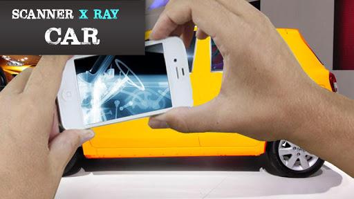 X射线扫描仪汽车