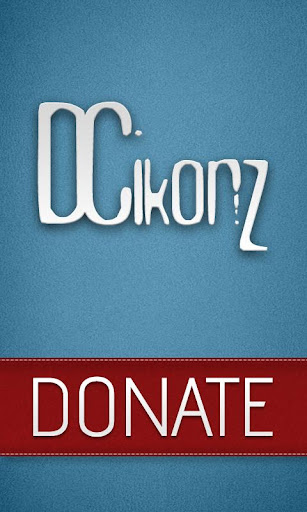 DCIkonZ Donate Silver