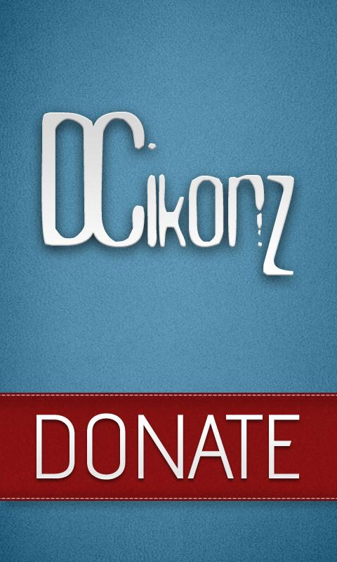 DCIkonZ Donate Silver- screenshot