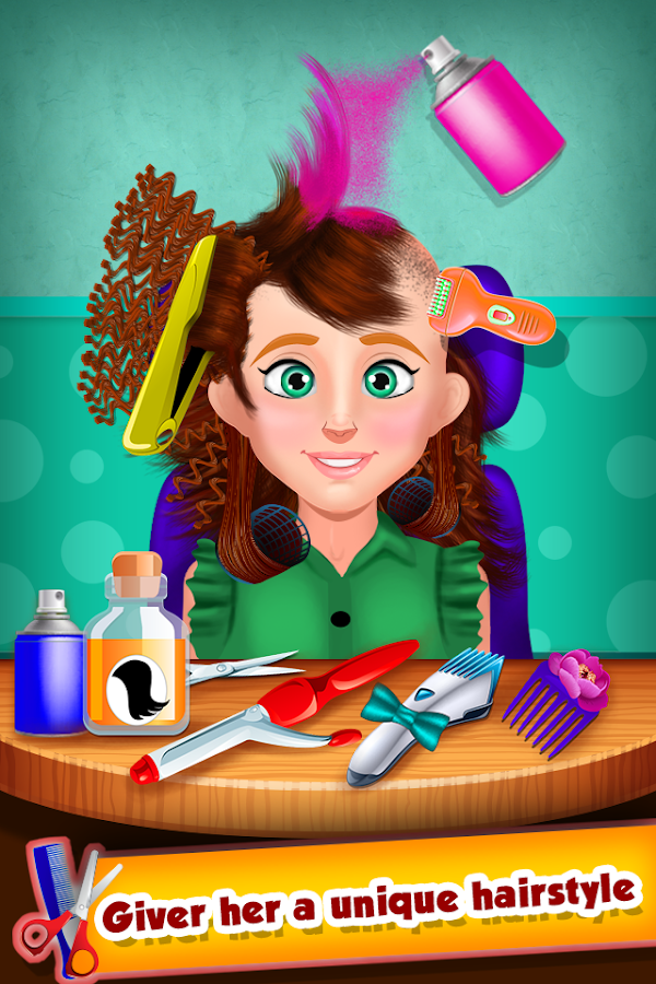 Hair Doctor Salon - screenshot