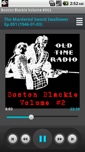 Boston Blackie Radio Show V.02