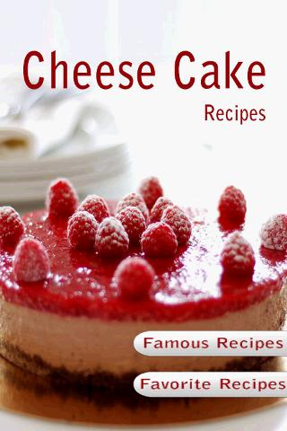 Cheesecake Recipes Cookbook - screenshot