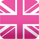 pink UnionJack wallpaper icon