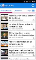 Screenshot of República Dominicana Noticias