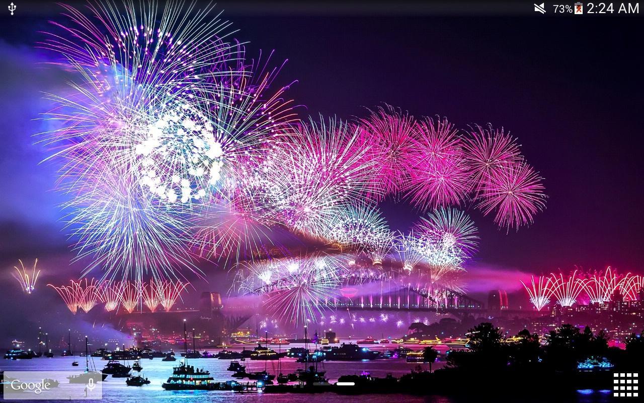 Fireworks Wallpaper Free: Fireworks Live Wallpaper PRO