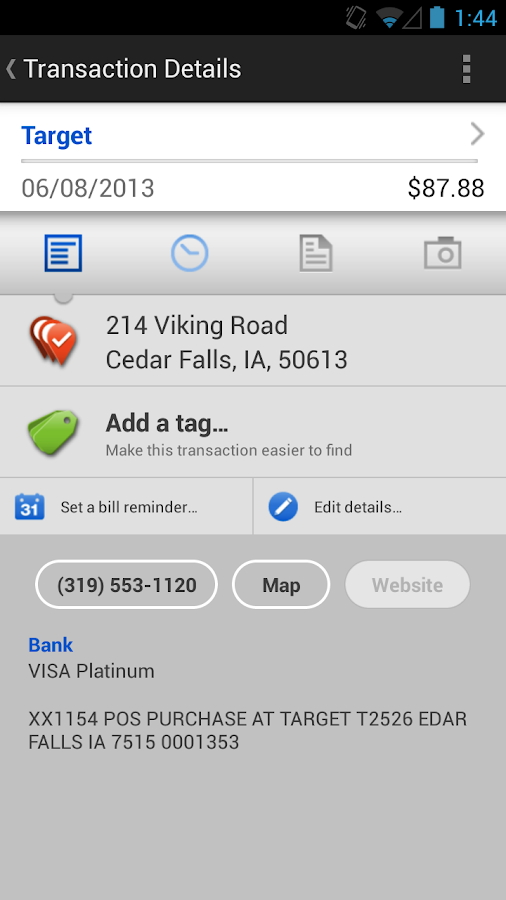 Henning-OT Bank Mobile - screenshot