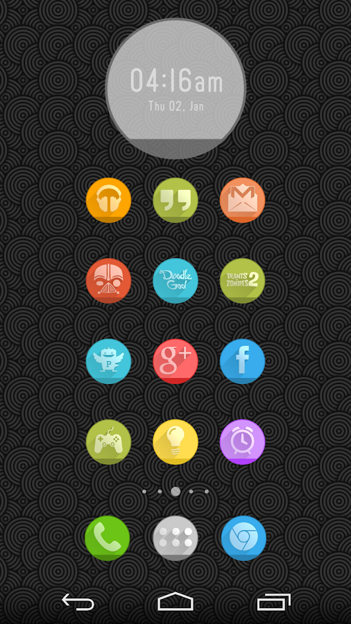 Circlons - Icon Pack - screenshot