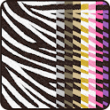 Colorful ☆Zebra Live Wallpaper