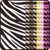 Colorful ☆Zebra Live Wallpaper