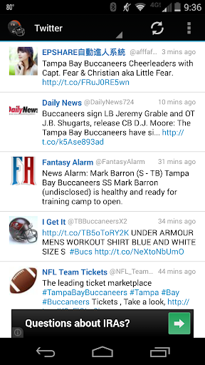 【免費運動App】Tampa Bay Football News-APP點子