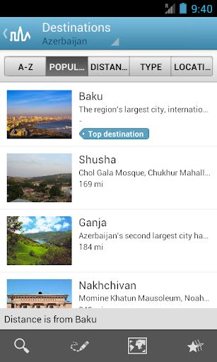 Azerbaijan Guide by Triposo