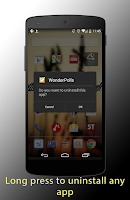 Screenshot of Rapidly -launch installed apps