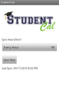 StudentCal - screenshot thumbnail