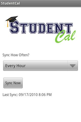StudentCal - screenshot